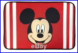 18pc Kids MICKEY MOUSE Complete BATHROOM SET Shower Curtain+Hooks+Mat+Towels Lot