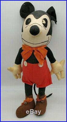 1930s Rare Antique Vintage DISNEY MICKEY MOUSE DOLL Toy Steamboat 17