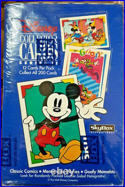 1992 Skybox Disney Collector Cards Series II Rare Sealed 36 Pack Box