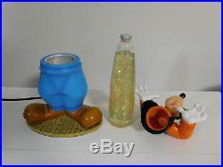 2005 Disney Catalog GOOFY LAVA LAMP FIGURE Light with Mickey Mouse Head Ears Icons
