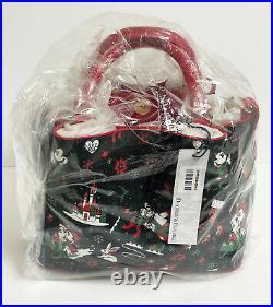 2017 Disney Dooney & Bourke Christmas Woodland Winter Crossbody Shoulder Bag NWT