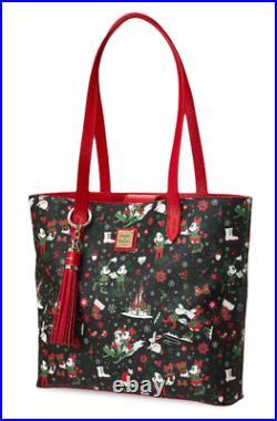 2017 Disney Dooney &Bourke Christmas Woodland Winter Large Tote Shoulder Bag NEW
