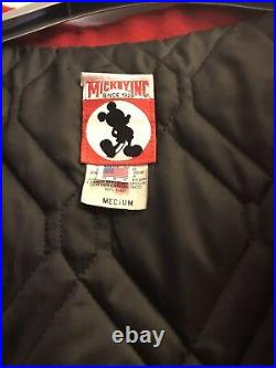 Appealing Michael Jackson Mickey Mouse Club Red Jacket