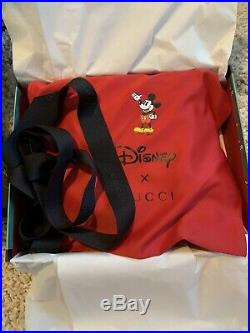 BNWT/Box Auth 2020 Gucci x Disney Mickey Mouse Shoulder Bag SOLD OUT Exclusive