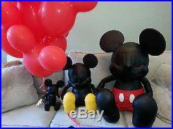 COACH X DISNEY Leather 13 SMALL MICKEY MOUSE DOLL Collectible LIMITED EDITION