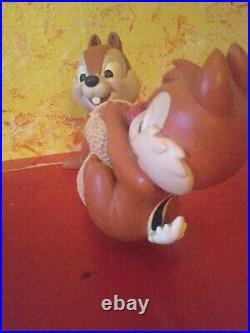 Chip und Chap Dale A und B Hörnchen kunstharz Figur Walt Disney
