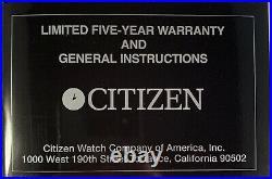 Citizen Eco-Drive Walt Disney Signature Mickey Mouse Men's Quartz Watch BM1042