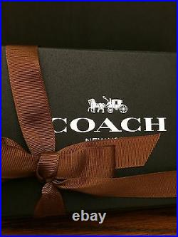 Coach Mickey Mouse Leather Key Fob Bag Charm doll DISNEY 66511 Ltd Edition NWT