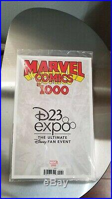 D23 Expo 2019 Marvel Comics 1000 80 Mickey Mouse Ramos Variant Cover Disney