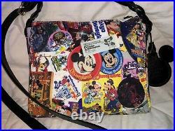 DISNEY Dooney & Bourke Mickey Mouse 90th Anniversary Crossbody Purse Bag NWT