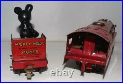 Disney1935lionel Mickey Mouse Circus Train5 Piece Set+track+ex! All Original