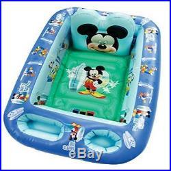 Disney Baby Inflatable Bathtub Kid Toddler Bath Tub Mickey Mouse Portable Pool
