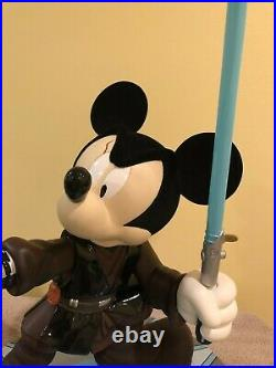 Disney Big Fig Star Wars Mickey Mouse as Anakin Skywalker + Original Box/COA