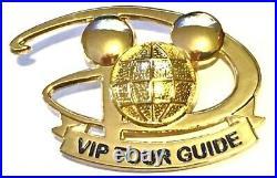 Disney Cast Member VIP Tour Guide Pin/Badge