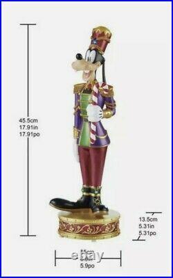 Disney Christmas Mickey And Goofy Nutcracker Musical Light Up Decorations