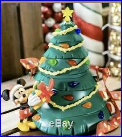 Disney Disneyland Mickey Mouse Christmas Tree Popcorn Bucket New Exclusive