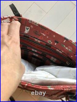 Disney Dooney & Bourke 2019 Christmas Holiday Passholder Shopper Tote Bag Purse