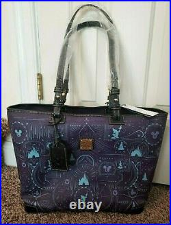 Disney Dooney & Bourke Fantasia Sorcerer Mickey Mouse NWT shopper tote bag purse