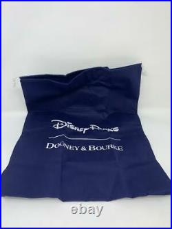 Disney Dooney & and Bourke 10th Anniversary Sketch Green Trim Crossbody Purse