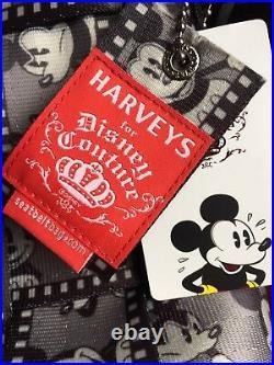 Disney Harveys Mickey Mouse Silver Screen Filmstrip Seat Belt Large Tote Bag NEW