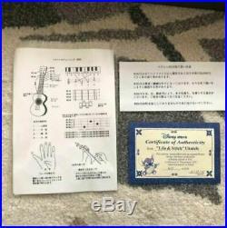 Disney Lilo & Stitch Ukulele figure Japan Tokyo LTD vintage 2005 Extremely RARE