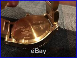 Disney Limited Edition X Mickey Mouse Nixon Watch Steven Harrington 51-30 V Rare