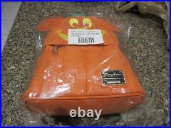 Disney LoungeFly Mickey Mouse Pumpkin Mini Backpack New In Bag
