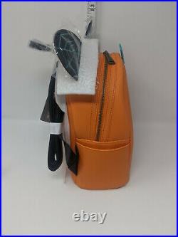 Disney Loungefly Mickey Mouse Jack-O'-Lantern Pumpkin Mini Backpack New