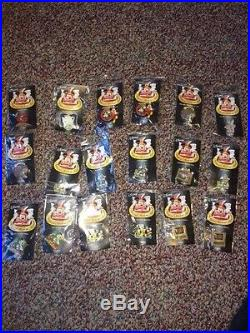 Disney Magical Musical Moments Mickey Mouse Pin Bag & Lot of MMM 18 Pins. NWT