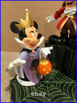 Disney Medium Big Fig Halloween Mickey and Minnie Mouse Villains