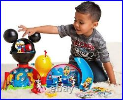 Disney Mickey Mouse Clubhouse Deluxe Playset Ages 2+ Toy Play Dollhouse Minnie