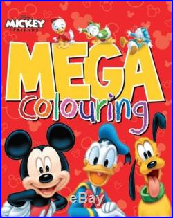 Disney Mickey Mouse & Co Mega Colouring Book The Cheap Fast Free Post