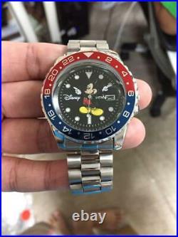 Disney Mickey Mouse Collaboration Submariner Quartz Limited Men's Watch Unused