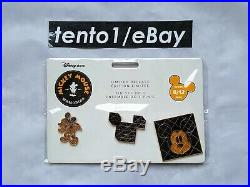 Disney Mickey Mouse Memories August Complete Set (Plush, Mug, Pin Set)