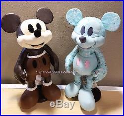 Disney Mickey Mouse Memories Plush Pin Mug Complete Collection January thru July