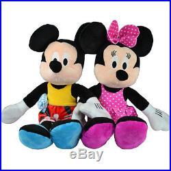 Disney Mickey Mouse Plush Toy Soft Cuddly Kids Minnie Doll Teddy Bear Boys Girls