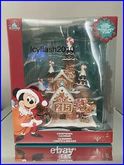Disney Mickey and Minnie Mouse Gingerbread Holiday Countdown Calendar Castle