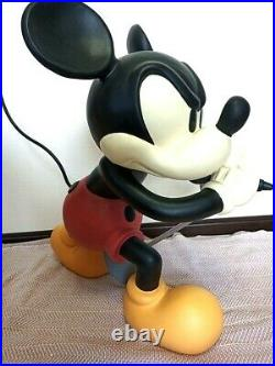 Disney Mickey mouse Number Nine 9th Anniversary Oversized Figure Color Japan