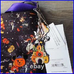 Disney Parks AUTHENTIC Harveys Halloween Mickey & Friends Crossbody Bag NEW