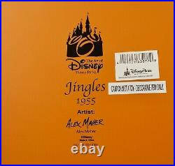 Disney Parks Mickey Mouse & Jingles Carousel Horse Medium Big Fig Figure NEW