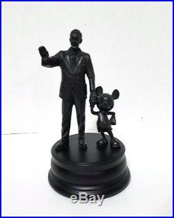 Disney Parks Walt Disney & Classic Mickey Mouse Statue Figurine