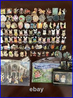Disney Pins Lot of 100 Single Pins as Pictured