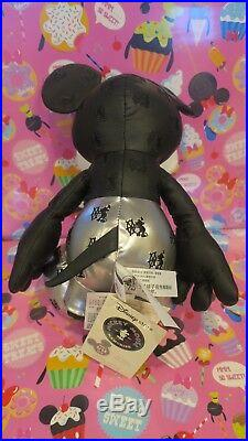 Disney Store 90th Birthday Mickey Mouse Memories January Plush Steamboat Willie