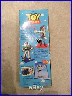 Disney Toy Story Poseable Talking Woody Pull String 1995 62810 Batteries Changed