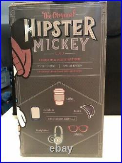 Disney VINYLMATION HIPSTER MICKEY 9 Figure by Wonderground Gallery NEW NIB