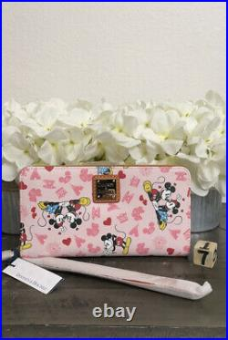 Disney Valentines Mickey and Minnie Mouse Love Dooney & Bourke Wallet 7