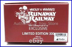 Disney WDI D23 Destination D Mickey & Minnie Runaway Railway 6 Jumbo Pin LE 300