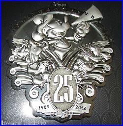 Disney WDW Disneys Hollywood Studios 25th Anniversary Jumbo Mickey Mouse Pin