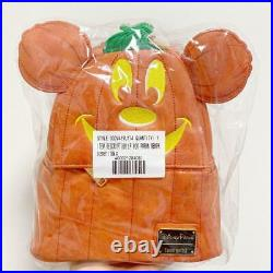 Disney X Loungefly Disney Parks Halloween 2019 Mickey Mouse Pumpkin Mini Backpac