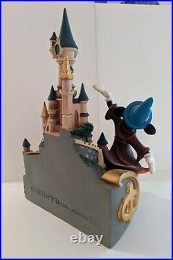 Disneyland Paris Fantasia Mickey Mouse Castle Demons & Merveilles Statue Disney